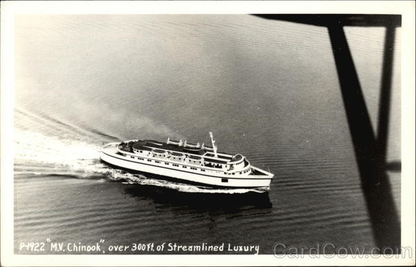 MV Chinook - Over 300 Ft. of Streamlined Luxury Boats, Ships