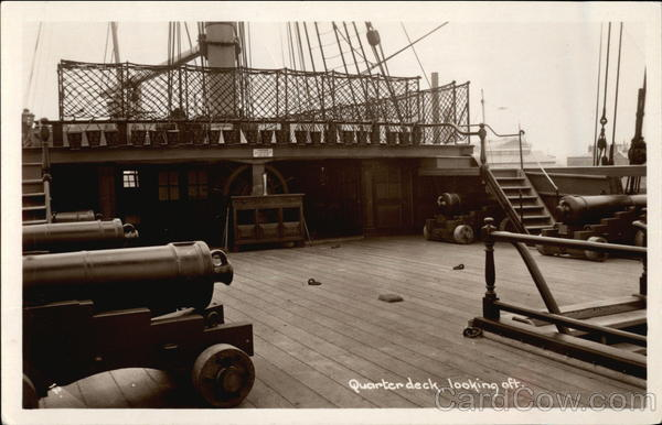 Quarterdeck, Looking Aft Boats, Ships