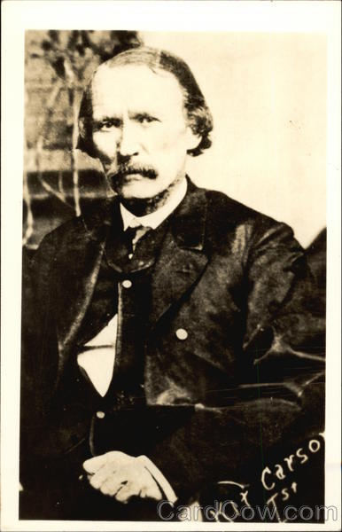 Vintage Photograph of Kit Carson Cowboy Western