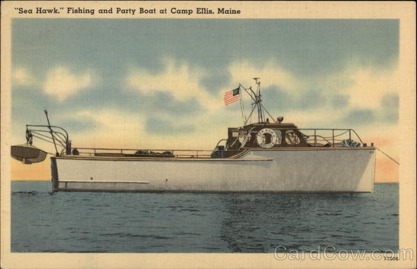 Sea Hawk Fishing and Party Boat Camp Ellis Maine
