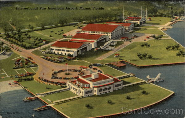 International Pan American Airport Miami Florida Airports