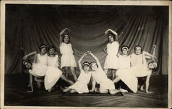 Dance Recital Pose of Ten Young Girls