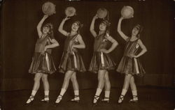 Four Dancers with Tambourines