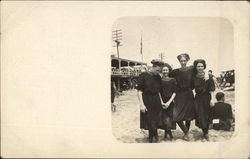 Group of Young Women at Rehoboth Beach