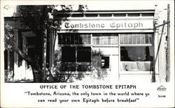 Office of the Tombstone Epitaph (Newspaper)