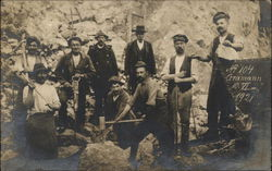 Group of Miners in 1921