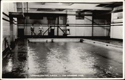London Central Y.M.C.A - Swimming Pool Postcard