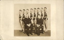 Vintage Photograph of Men's Basketball Team