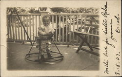 Child in Baby Walker