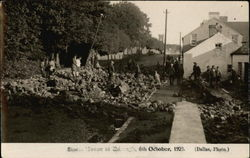 Storm Havoc, October 6, 1929 England? Postcard