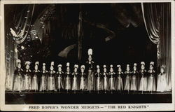 "Fred Roper's Wonder Midgets - ""The Red Knights"""