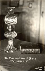 The Coolidge Lamp and Bible