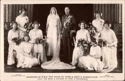 Wedding of H.R.H. The Duke of York and Lady E. Bowes-Lyon