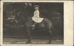Princess Mary of Wales, sitting on Horse