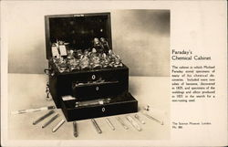 The Science Museum - Faraday's Chemical Cabinet Postcard
