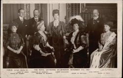The Royal Gathering at Windsor - November 17, 1907