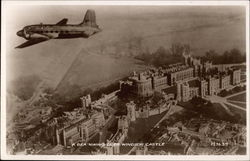 BEA Vickers Viking Flying over Windsor Castle