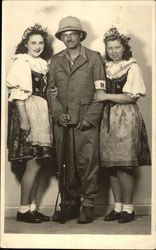 A Soldier and 2 Women