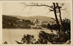 View of West Point across the Water