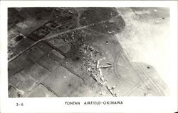 Aerial View of Yontan Airfield - Okinawa