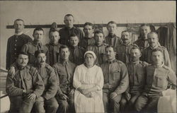 Group Picture of Men and one woman