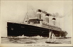 SS Leviathan - The World's Largest Liner