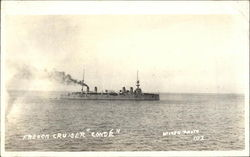 "French Cruiser ""Conde'"