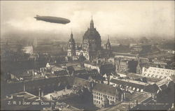 Zeppelin over Cathedral