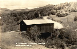 A Vermont Covered Bridge