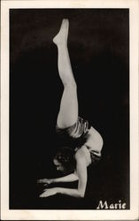 Woman Contortionist Marie