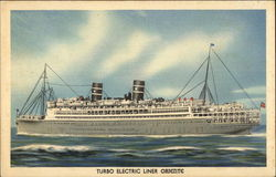 "Turbo Electric Liner ""Oriente"""