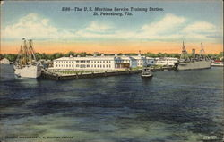 The US Maritime Service Training Station