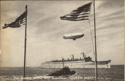"The Cunard White Star Superliner ""Queen Mary"""