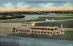 Peter O. Knight Airport, showing Skyline