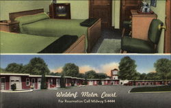 Waldorf Motor Court - Room & Grounds