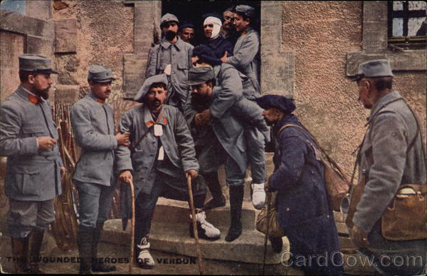 The Wounded Heroes of Verdun Military