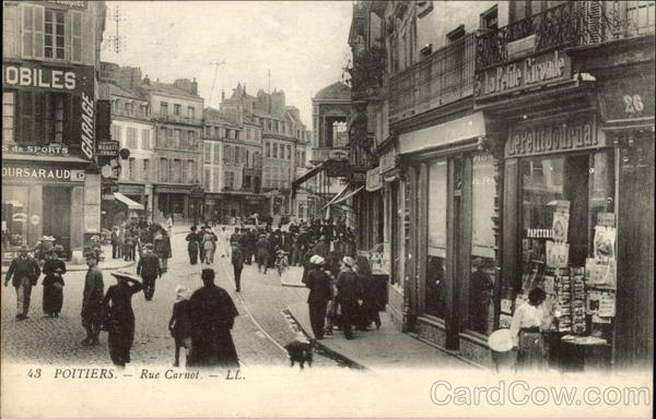 Poitiers - Rue Carnot
