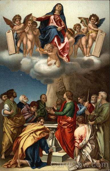 Assumption of the Virgin Mary Art