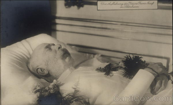 Emperor Franz Josef - Laid to Rest at Schonbrunn Palace