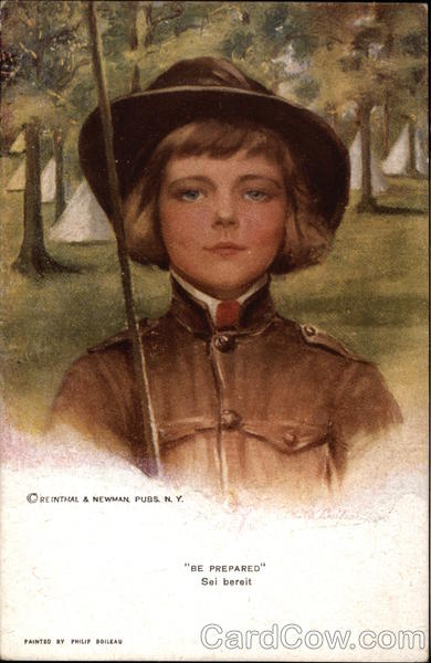 Be Prepared - Young Boy in Uniform Philip Boileau