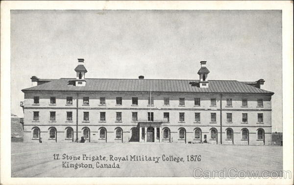 Royal Military College in Kingston, Canada Ontario