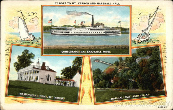 Travel ideas for Mt Vernon and Marshall Hall
