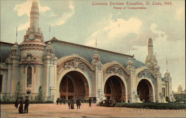 Louisiana Purchase Exposition, St. Louis, 1904, Palace of Transportation