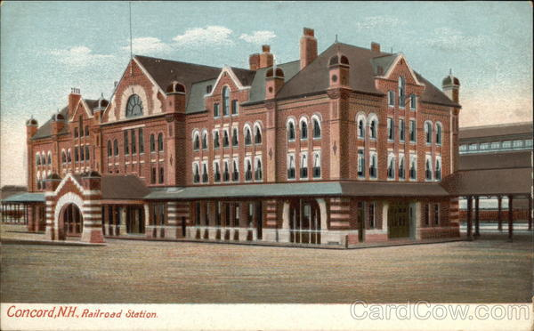 Railroad Station in Concord, New Hampshire Depots