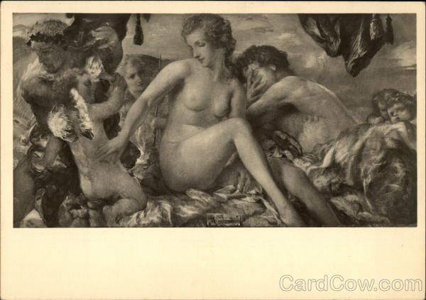 Mars and Venus - Nude with Cherubs Risque & Nude