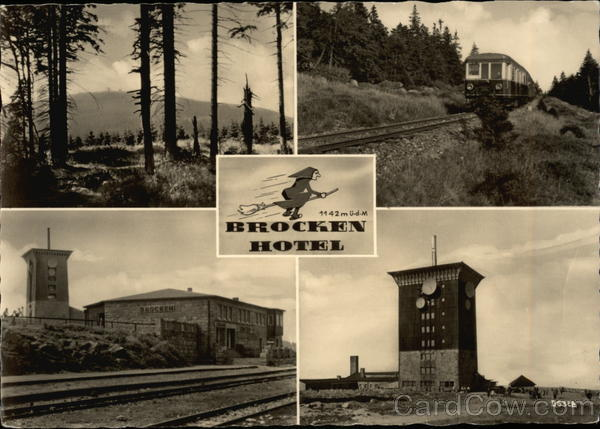 Brocken Hotel Advertising