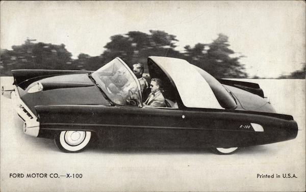 Ford Motor Co. - X-100 Cars