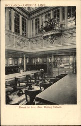Holland-America Line Dome in First Class Dining Saloon