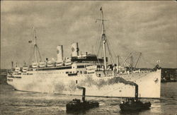 MS Gripsholm - Swedish American Line