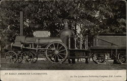 An Early American Locomotive